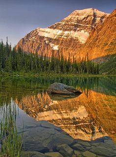 Mount Edith Cavell ~ Jasper National Park, Canada