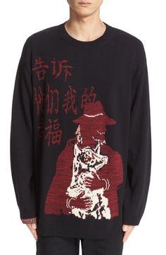 Yohji Yamamoto Intarsia Knit
