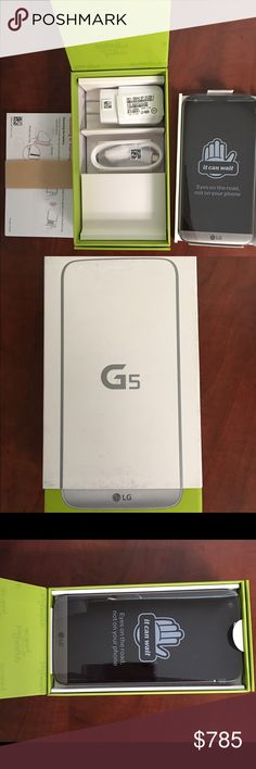 BRAND NEW LG G5 Cell phone - ATT/Cricket service BRAND NEW LG G5 Cell Phone. It's never been used. I added the line on my account to take advantage of their free TV promotion but I have no use for the phone. It's only compatible with ATT or Cricket since ATT now owns cricket. Price is FIRM! (I'm already taking a hit on price since Posh takes 20%) Other
