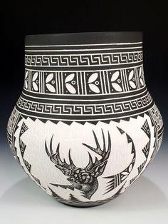 Acoma Pueblo Pottery  by R.N. Sanchez