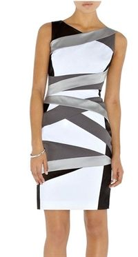 BANDAGE COCKTAIL DRESS