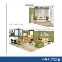 Bravo, Decoration, Marie, Loft, Architecture, Bed, Furniture, Home Decor, Apartment Chic