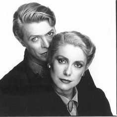 David and Catherine in The Hunger