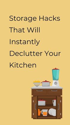 Check out these ideas of how to organize your kitchen.Easy and quick DIY kitchen organization ideas to help you make order. Perfect for small kitchens so check out these cheap storage tips for kitchen. #hometalk Kitchen Storage Hacks, Kitchen Organization, Diy Kitchen, Organization Ideas, Kitchen Tips, Cheap Storage, Storage Sets, Declutter, Organize