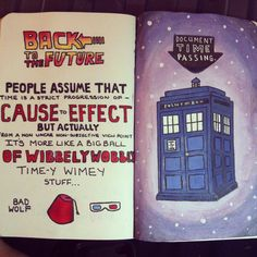 Doctor who wreck this journal