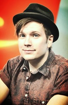 Patrick Stump.. Ladies and gentlemen I present to you the most positive man on earth!!
