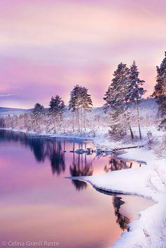 ***Winter twilight (Norway) by Celina Røste on 500px ❄️c.
