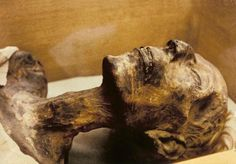 Ramses II - a.k.a Ramesses the Great - died in 1213 BCE and is believed to be the possible ruler during the exodus of Moses. He is believed to be one of the best-preserved mummies in the world. Like many pharaohs, he was initially buried in the Valley of the Kings, but was later moved because of heavy looting. He was re-wrapped and relocated to the tomb of Queen Inhapy, then later moved again to the tomb of a high priest, Pinudjem II.