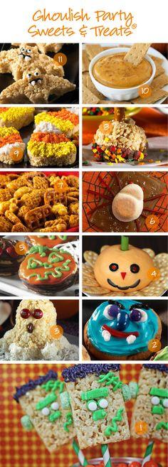 Halloween Snack Recipes