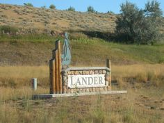 Lander, Wyoming is located along the Wind River Range.