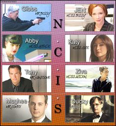 N.C.I.S. teAm by ~NCISgirl on deviantART Serie Ncis, Ncis Tv Series, Best Tv Shows, Favorite Tv Shows, Ncis Kate, Tv Show Workouts, Ziva And Tony, Ncis Characters, Gibbs Rules