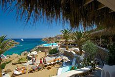 Best beach clubs in Mykonos Greece - Roamaroo