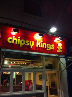 Classic - The Chipsy Kings - Our bike somehow had a flat tire in the time it took to run in and get an order of chips.  The bike never left our sight in the 5 minutes it took to order.