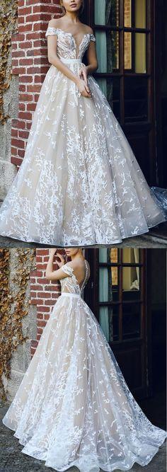 Wedding dresses Sale, Sleeveless Wedding Dresses, Long Wedding Dresses, Ivory Wedding Dresses, Floor Length Dresses, Zipper Wedding Dresses, Applique Wedding Dresses, Floor-length Wedding Dresses