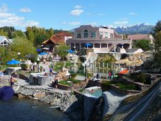 We stopped in Pagosa Springs for a pit stop and wished we had our bathing suits in the car. What a great resort town with natural hot springs! The town offers a large outdoor pool and several smaller pools that have different temperatures. Take your pick according to your heat index.