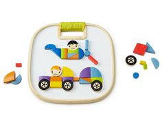 MAGNETIC VEHICLES | Hape Wooden Kids' Toy | UncommonGoods