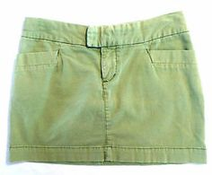 Womens Size 2 American Eagle Outfitters Skirt, Light Grass Green Chino Mini. $6.99