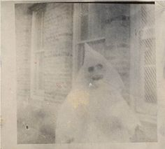 Haunted Air by Ossian Brown Halloween  found photo