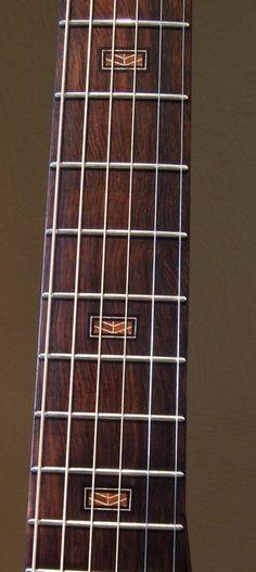 Ken Franklin Guitars Halcyon fretboard inlays