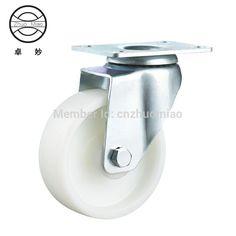1PZ 3 inch Medium wheel  4 inches Nylon Caster Wheels white color caster #Affiliate