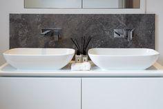 Master bedroom ensuite double sink