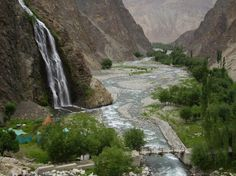 Manthoka Waterfalls Skardu Pakistan