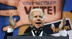 """""""Did you think we'd be fighting these battles again?"""" Biden said. """"I didn't think we'd be back. I remember working with Republicans — and by the way, this ain't your father's Republican Party — on motor-voter, expanding the [voting] franchise. Some of these were Republican ideas. This is not the Republican Party's view today, nor Romney's. They see a different future in which voting is harder than easier."""""""