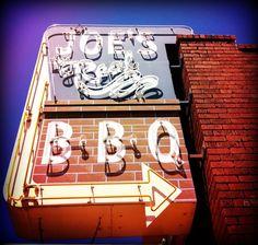 Joe's Real BBQ - pretty sure it's just a set free meal.