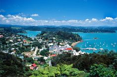 Russell, formerly known as Kororāreka, was the first permanent European settlement and sea port in New Zealand. It is situated in the Bay of Islands, in the far north of the North Island.
