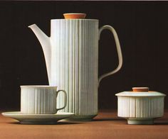 """Variation"" Tapio Wirkkala  (Erdinç Bakla archive) Ketchup Bottles, Marimekko, Vintage Pottery, Ceramic Artists, Art Object, Scandinavian Design, Timeless Design, Finland, Dinnerware"
