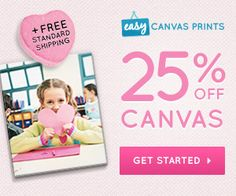 Easy Canvas Prints 74% Off Coupons, Promo Codes, 2015 Valentine's Day Deals | Help Me Find Coupons