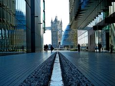 Tower Bridge and More Londpn, via Flickr.