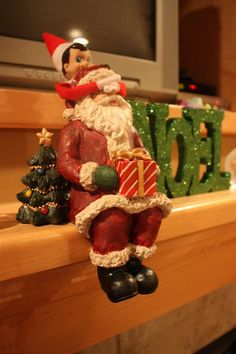 Elf on the Shelf ideas..