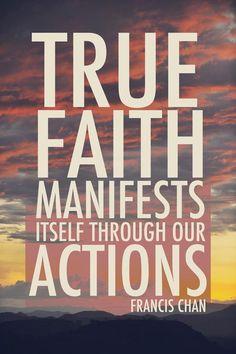 true faith.