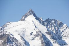 #Grossglockner #Highest #Mountain In #Austria 3.798m @fotolia #fotolia #mountains #snow #winter #summer #sightseeing #carinthia #travel #vacation #holidays #summit #peak #top #stock #photo #portfolio #download #hires #royaltyfree