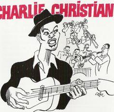 Cabu 1998 Charlie Christian: Masters of Jazz (Cabu Collection) [Média 7 (Musisoft) R2CD 8004 (3356579580045)] #albumcover #portrait