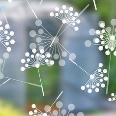 Dandelion Sheer Window Film