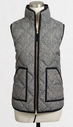 Love this puffer vest! @rachell54321 say yes to the vest is officially everywhere