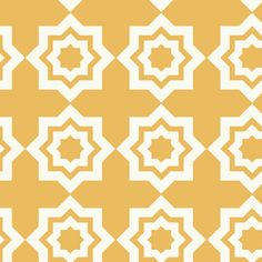 Khristian A Howell - Moroccan Mirage - Tiles in Ochre