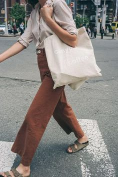 The Canyon Tote : Our classic Canyon Coffee tote bags! Natural, quality canvas with our Canyon Coffee logo screen-printed in white. Product details:- Reinforced at stress points- W x H- handles Looks Street Style, Looks Style, Looks Cool, Style Me, Style Outfits, Mode Outfits, Casual Outfits, Fashion Outfits, Modest Fashion