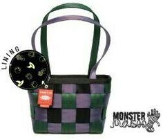 *Harveys Seatbelt Bag 2012 LTD Medium Tote in~Monster Mash~ #192 of 250*