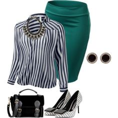 5 spring plus size work outfits - Page 2 of 5 - women-outfits.com