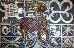 Adire Eleko Cloth & Senufo Animal Art Lesson (Part 1)