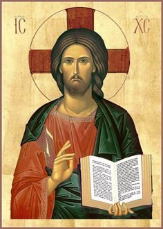 by-grace-of-god - Posts tagged Jesus Christ Pantocrator, Byzantine Icons, Byzantine Art, Religious Icons, Religious Art, Greek Icons, Roman Church, Images Of Christ, Religion Catolica