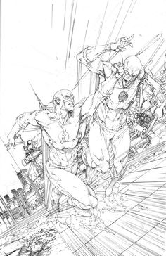 The Flash sketch - Brett Booth Comic Book Artists, Comic Artist, Comic Books Art, O Flash, Flash Art, Coloring Books, Coloring Pages, Brett Booth, Drawing Sketches