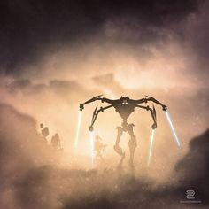 """Sceny jak z """"Gwiezdnych Wojen"""" stworzone przy pomocy kolekcjonerskich figurek - Joe Monster"""