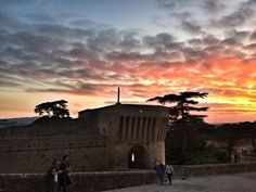 Another gorgeous summer sunset in Le Marche