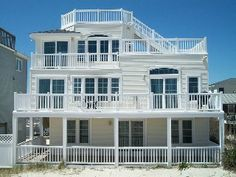 Booking for Holidays and 2014: New Oceanfront Single FamilyVacation Rental in Ship Bottom from @HomeAway! #vacation #rental #travel #homeaway