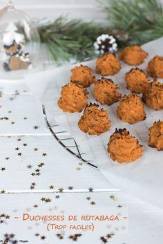 Duchesses de rutabaga (accompagnement de fêtes) Family Meals, Deserts, Ethnic Recipes, Original Recipe, Postres, Dessert, Plated Desserts, Desserts