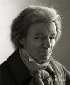 """A fictional portrait of Ludwig van Beethoven that I did for a special collector's edition """"Das Erbe unserer Welt"""" for National Geographic magazine (german edition). As opposite of the more sinister appearance of the usual Beethoven portraits they wanted a more friendly and more photorealistic version. Print available starting at $30."""